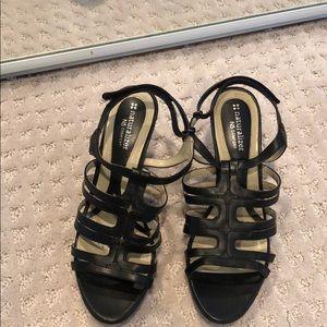Naturalizer Black strappy sandal